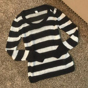 J. Crew Sweaters - J. Crew Stripe Linen Sweater